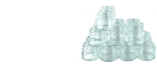 Steklena posodica s pokrovom, 30 ml-238