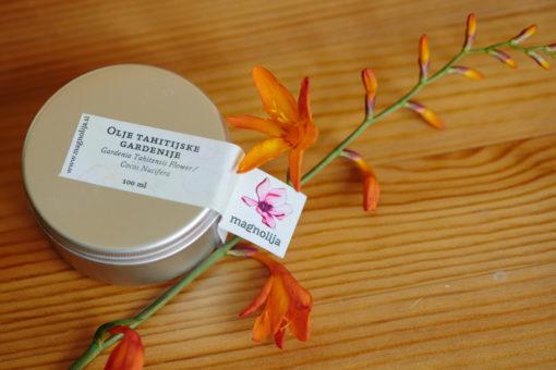 Olje tahitijske gardenije, hladno stiskano, 100 ml-0